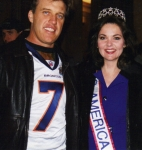 Susan and John Elway at the Denver Bronco Superbowl Victory Party