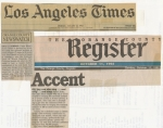 LA Times & OC Register Newspapers