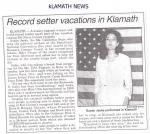 Klamath Newspaper