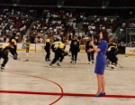 Singing the National Anthem for The Anaheim Duck NHL home game