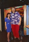 Guinness Book of Records Press Conference. Susan with the Worlds Tallest Woman