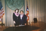 Meeting the Governor of Hawaii before event