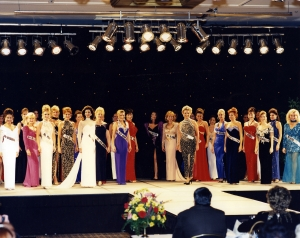 The first Ms. America Pageant - 1997