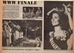 Litteton Independent Newspaper - Being crowned Miss Litteton 1983