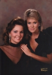 Susan and Debbie Maffett, Miss America 1983 - Roommates for 3 years