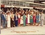 Centennial Race Track with Contestants in the Miss Littleton Pageant