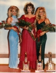 Miss Brea/Fullerton 1986 - susan Jeske with 1st and 2nd Runner-Up