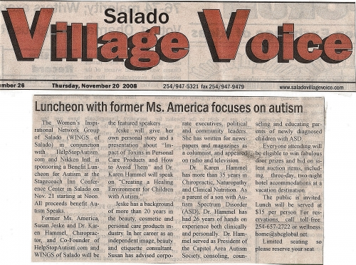 Salado Village Voice News
